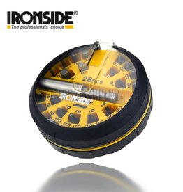 "IRONSIDE® Bit-Set ""Puck"" 28 tlg."