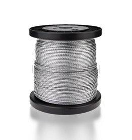 Stahldrahtseil ø2mm verzinkt 100m