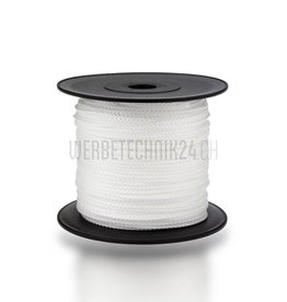 Polyamidkordel ø1.5mm weiss 100m