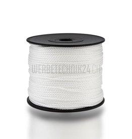 Cordon polyamide ø2mm blanc 100m