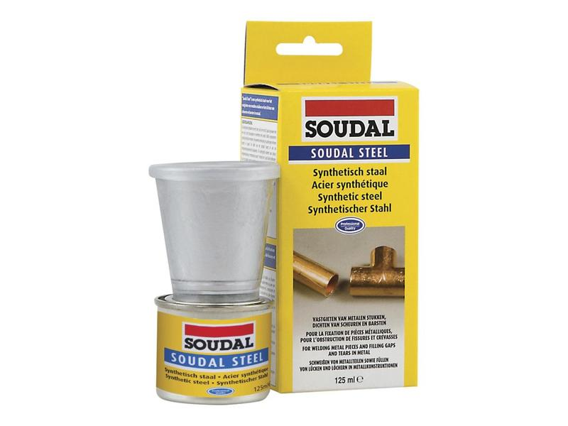Soudal Soudal steel 125 ml