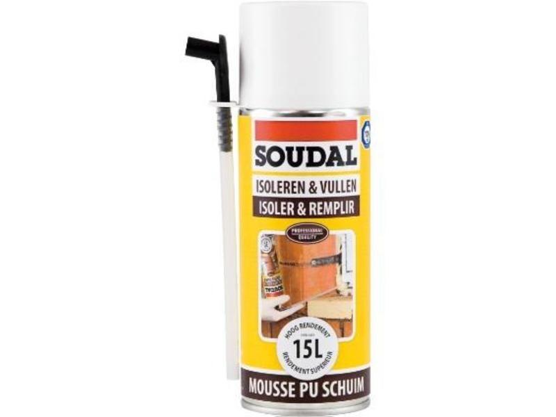 Soudal Montage& Isolatieschuim 300 ml