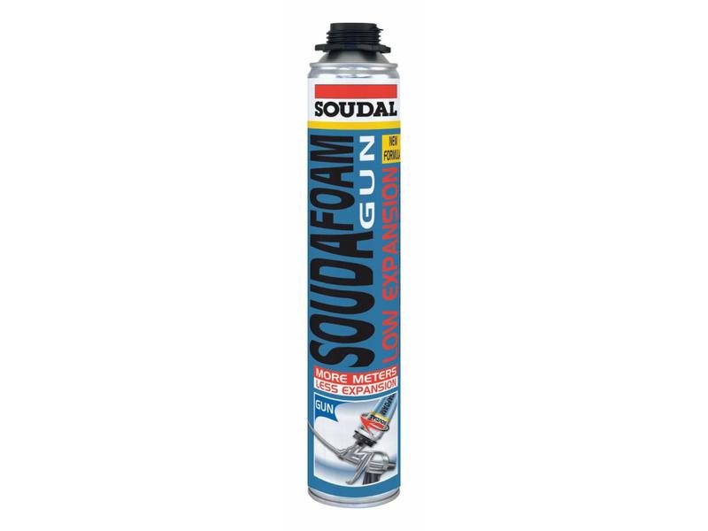 Soudal Soudafoam gun Schroefdraad 750 ml