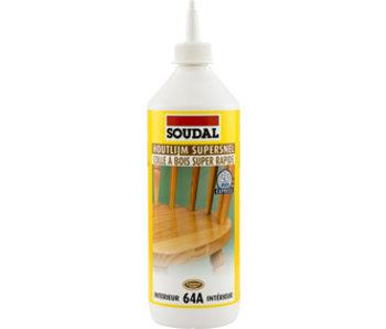 Supersnelle houtlijm 64A 750 ml