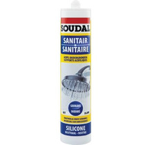 Sanitaire silicone transp 300 ml