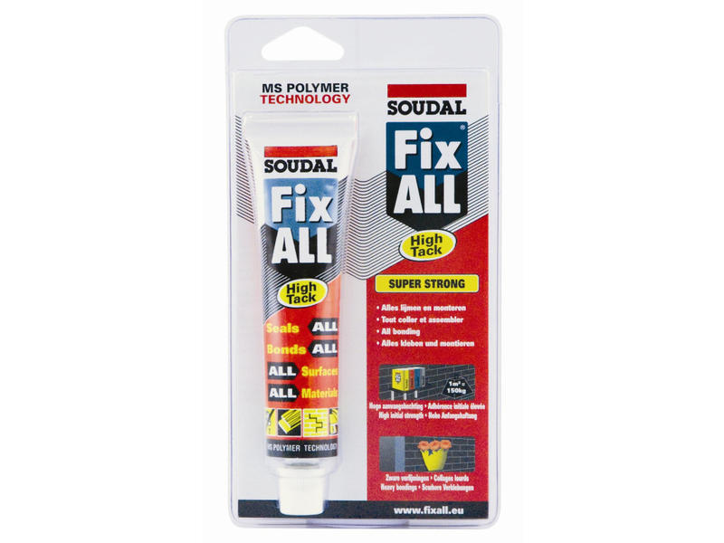 Soudal Fix All High Tack in blister wit 80 ml