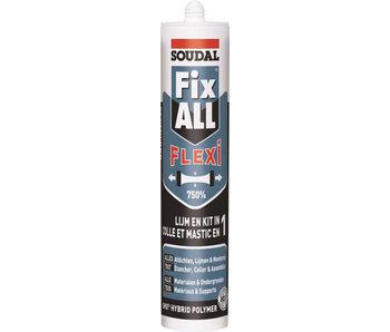 Fix All  zwart 290 ml