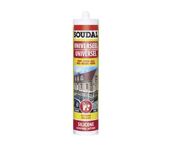 Universele silicone wit 300 ml