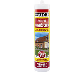 Bouw silicone wit 300 ml