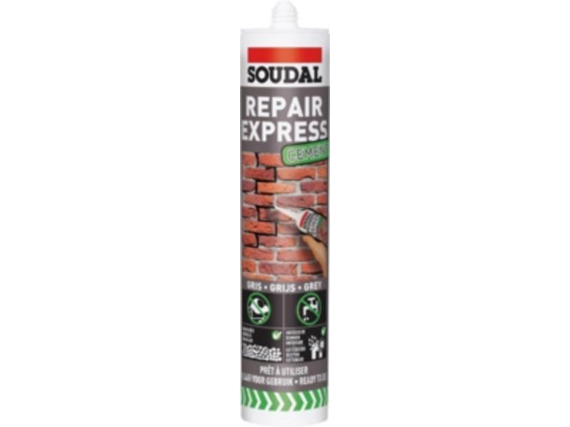 Soudal Repair Express cement grijs 300 ml