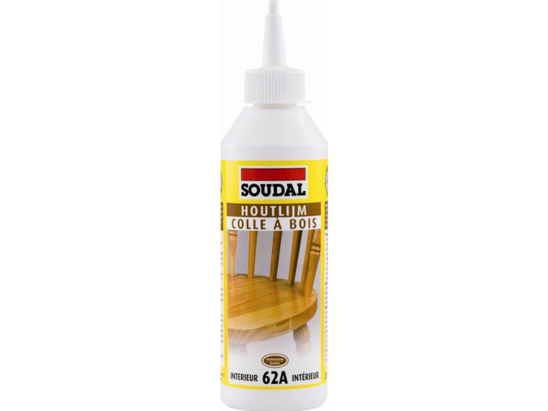 Soudal Witte houtlijm 62A 750 ml