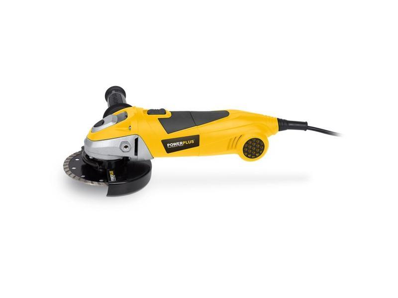 Power Plus HAAKSE SLIJPER 900W Ø115mm