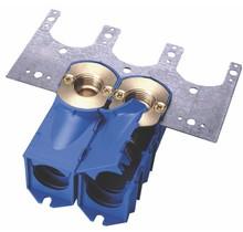 Enkele inbouwdoos M24  (blauw)