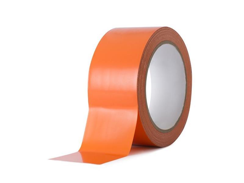 Bobrush TAPE plastiek voor MUREN oranje 33m x 50mm