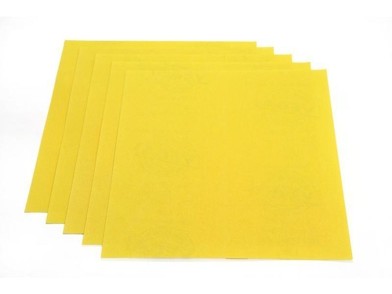 Bobrush Schuurpapier geel alu-oxide
