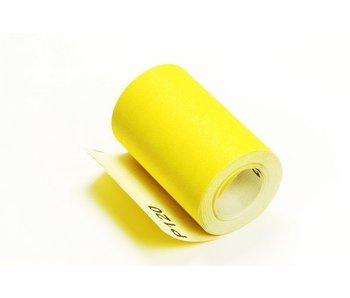 Schuurpapier geel alu-oxide op rol 10cm 9,1m