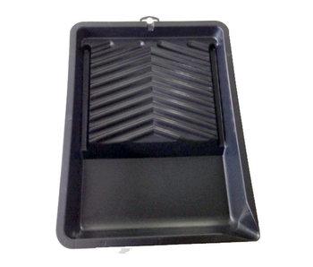 Verfbak kunststof 24 x 31 cm zwart