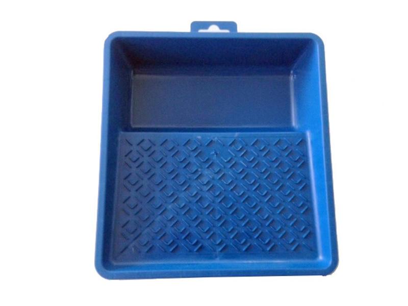 Bobrush Verfbak kunststof 20 x 21,5 cm blauw