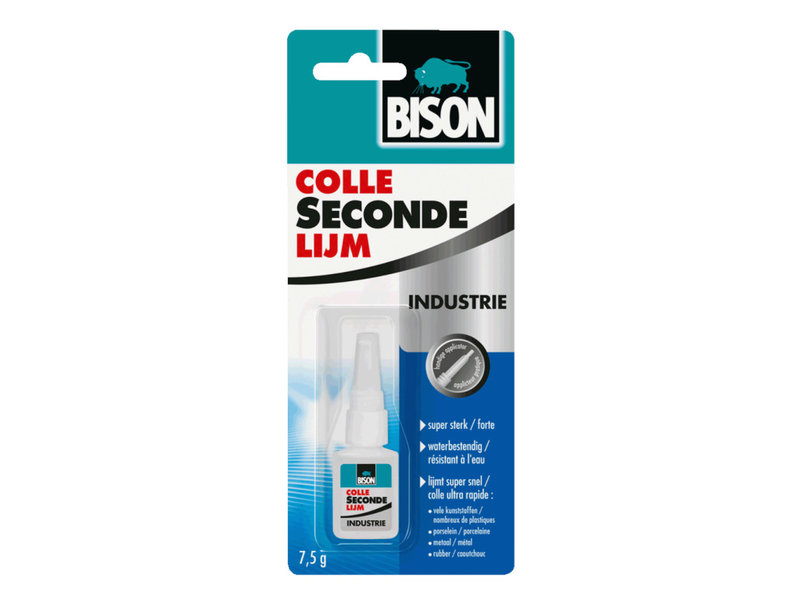 Bison Secondelijm Industrie  7,5 ml