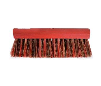 STRAATBEZEM BAHIA/PVC KORT rood 30 cm rond