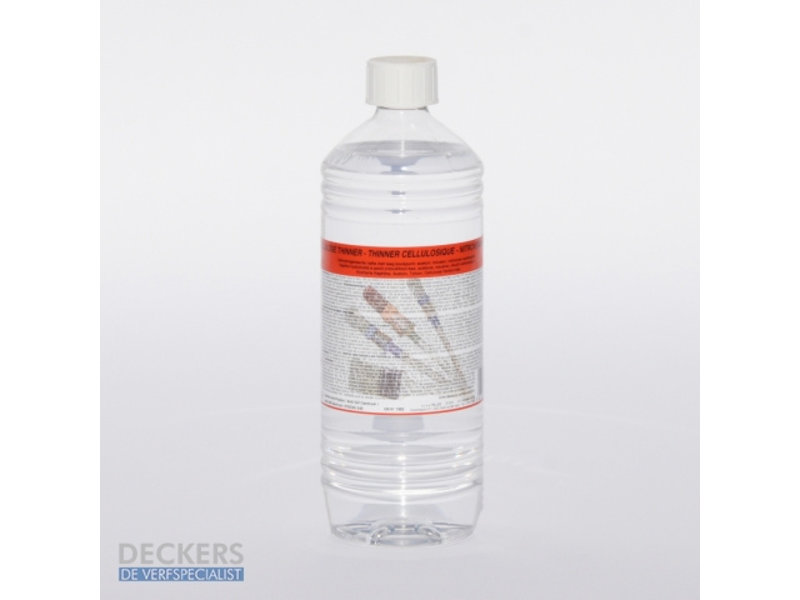 Deckers THINNER CELLULOSE 1 L.
