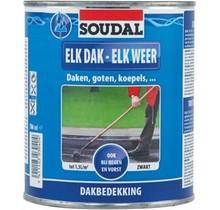 Elk Dak - Elk Weer zwart 750 ml