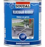 Soudal Vloeibaar Rubber zwart 4 l