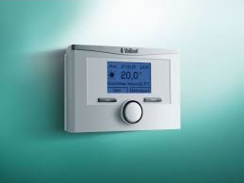 Vaillant modulerende draadloze eBUS-kamerthermostaat calorMATIC VRT 350f