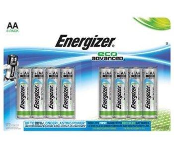 AA batterij Energizer 8x Maxipack