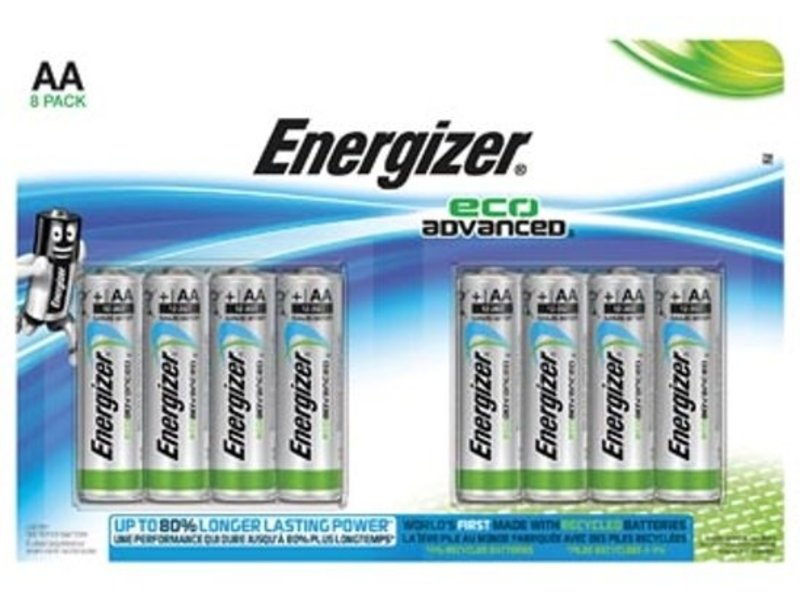 Energizer Energizer 8x Maxipack Eco advanced AA