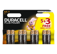 Duracell AA  8 pack