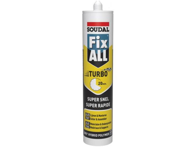 Soudal Fix All Turbo wit 290 ml