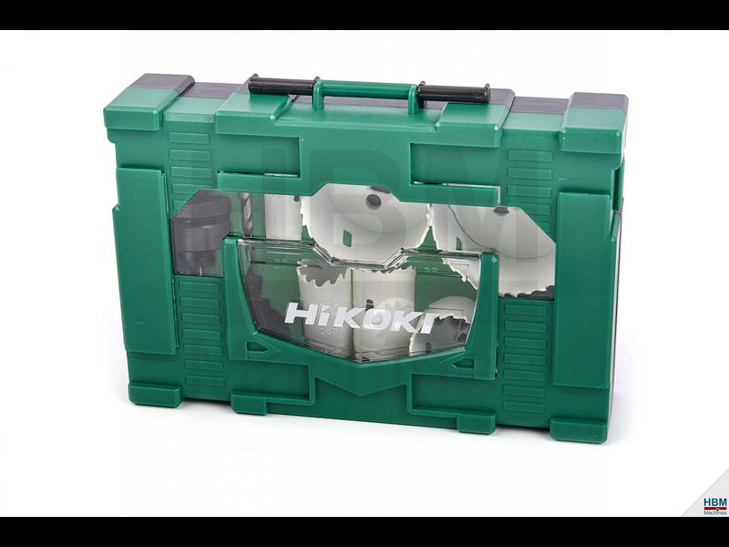 Hikoki Bi-metaal gatzagen set 19/25/32/38/44/57/68 mm + 2 x houder