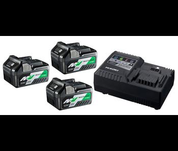 BoosterPack Multi-Volt - 3 x 5Ah 18V / 2,5Ah 36V + Lader UC18YSL3