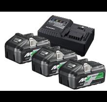 Boosterpack Multi-Volt - 3 x 8Ah 18 V / 4Ah 36 V + lader UC18YSL3