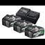 Hikoki Boosterpack Multi-Volt - 3 x 8Ah 18 V / 4Ah 36 V + lader UC18YSL3