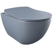 CREAVIT DESIGN OPHANG WC ZONDER SPROEIER (BIDET), BASALT MAT