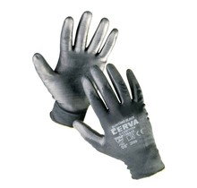 BUNTING BLACK gloves PU palm - XL