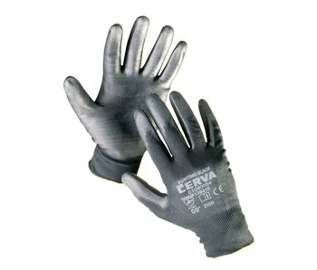 BUNTING BLACK gloves PU palm - XL