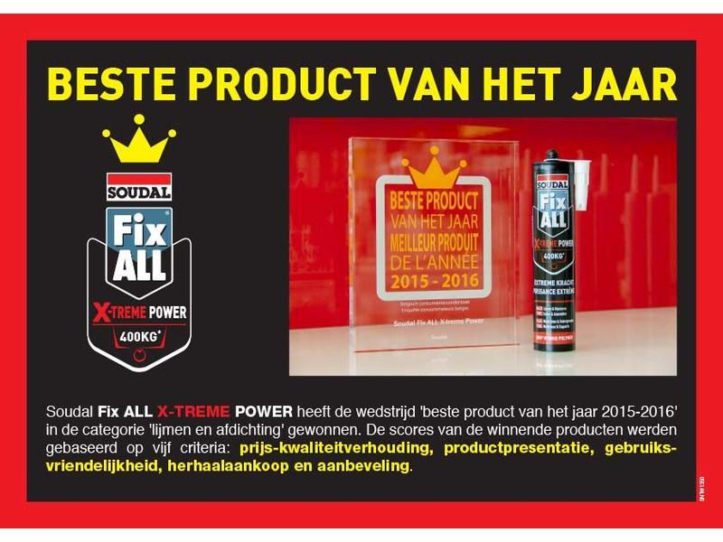 Soudal Fix ALL Extreme Power wit 290 ml