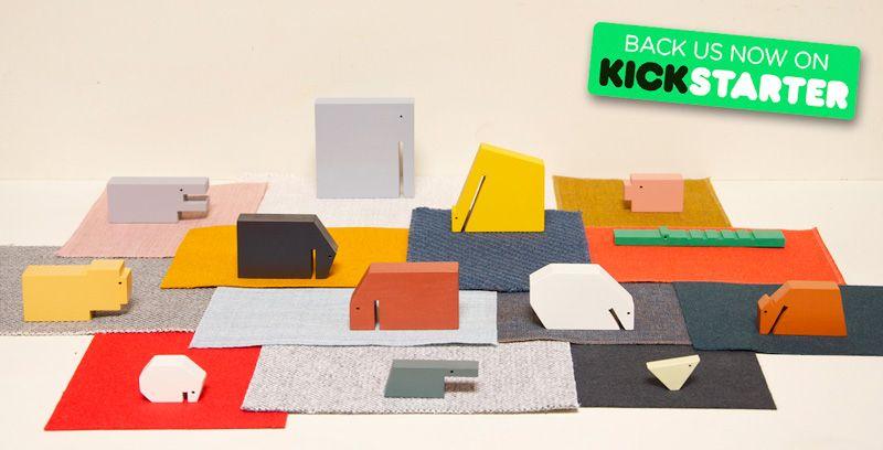 Floris Hovers Houten Dieren nu op Kickstarter