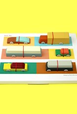 Ikonic Toys Floris Hovers Duotone Cars - Set