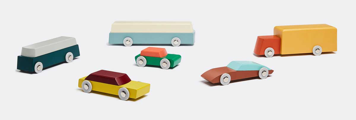toy design wooden toy cars duotone floris hovers