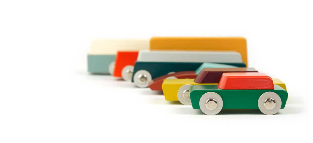 Wooden Design Toy Cars Floris Hovers