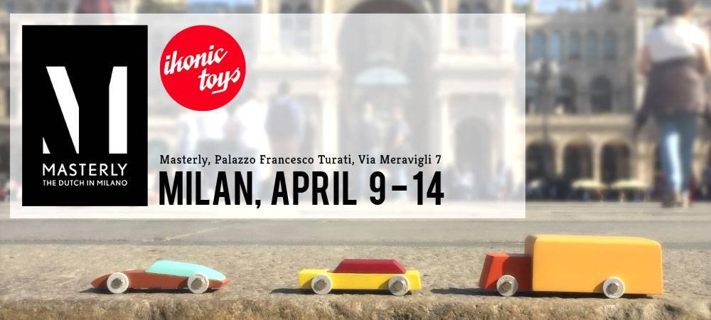 Ikonic Toys geselecteerd voor Masterly - The Dutch in Milano 2019