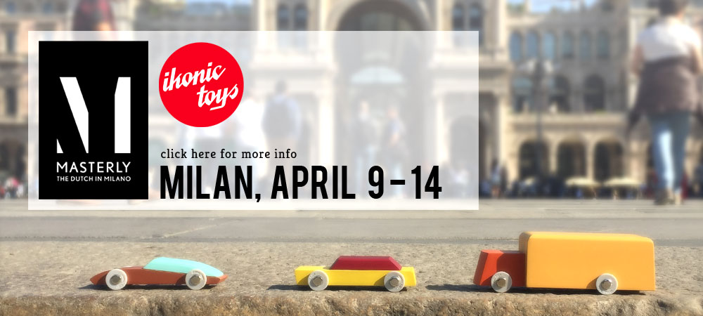 Ikonic Toys at Masterly during Salone del Mobile