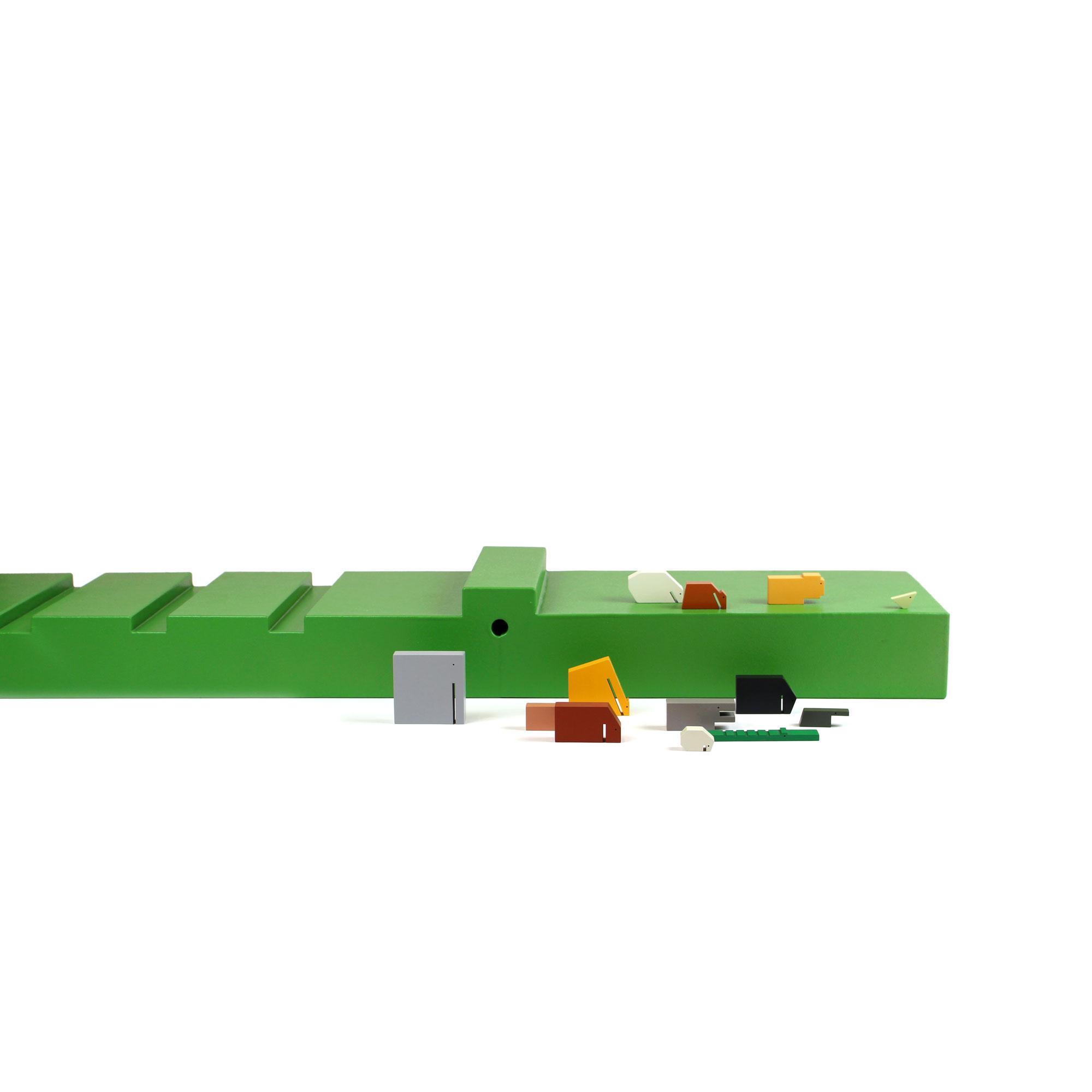 Ikonic Toys Floris Hovers Krokodil  XXL - outdoor