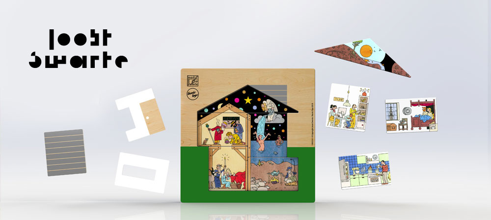 Joost Swarte Puzzle 'House'