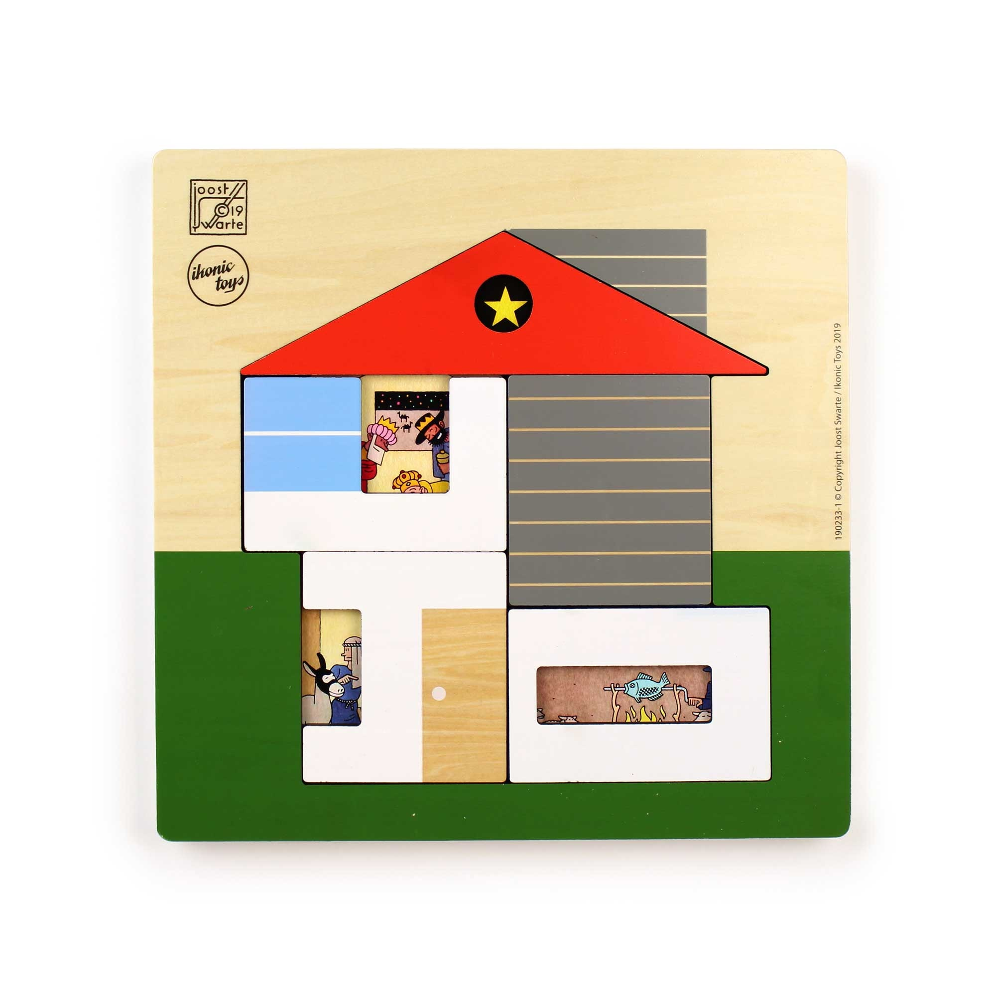 Ikonic Toys Joost Swarte House Puzzle
