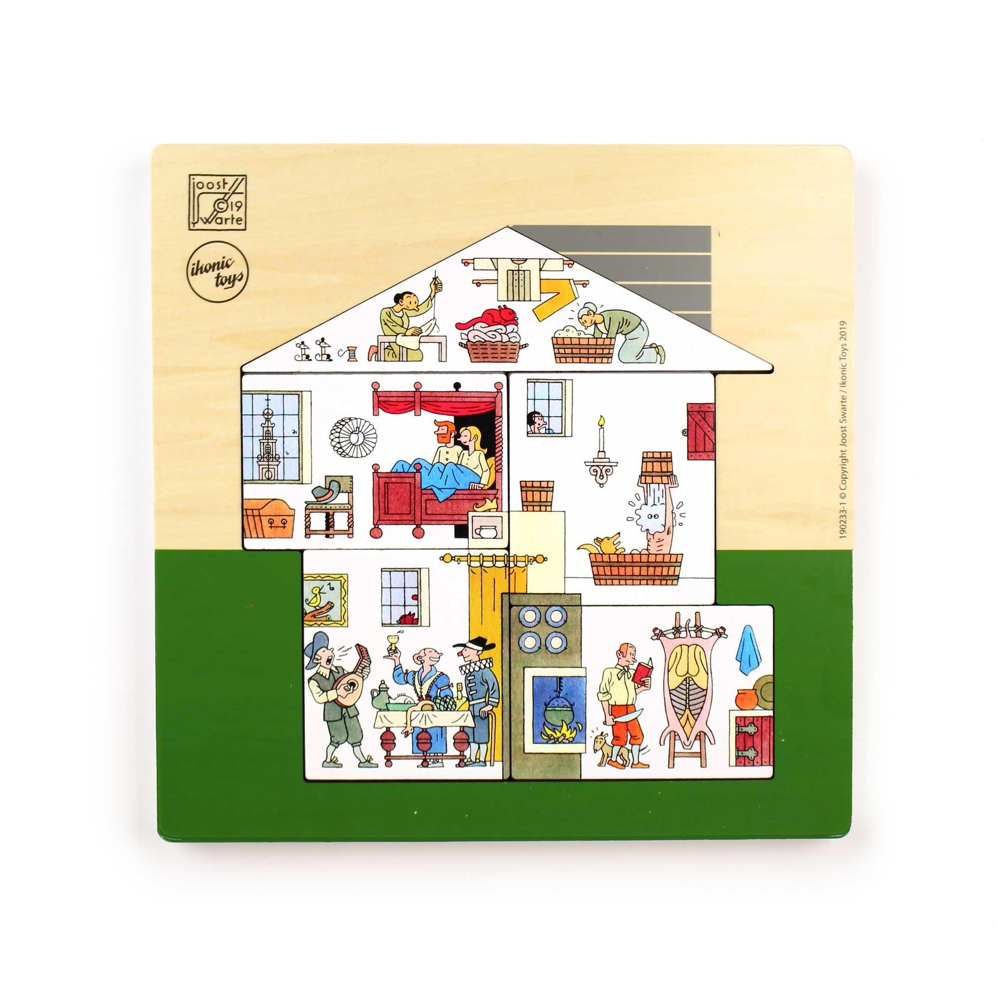 IKONIC Joost Swarte 'Huis' Puzzel